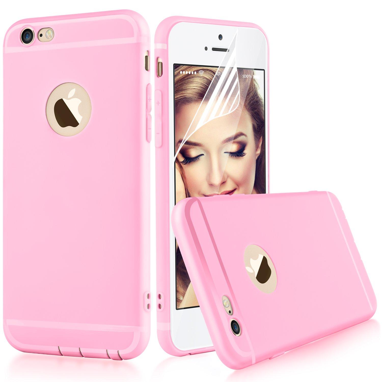 i6 Cases ピンク i6-case02-3 B01L1AUI22 ピンク ピンク