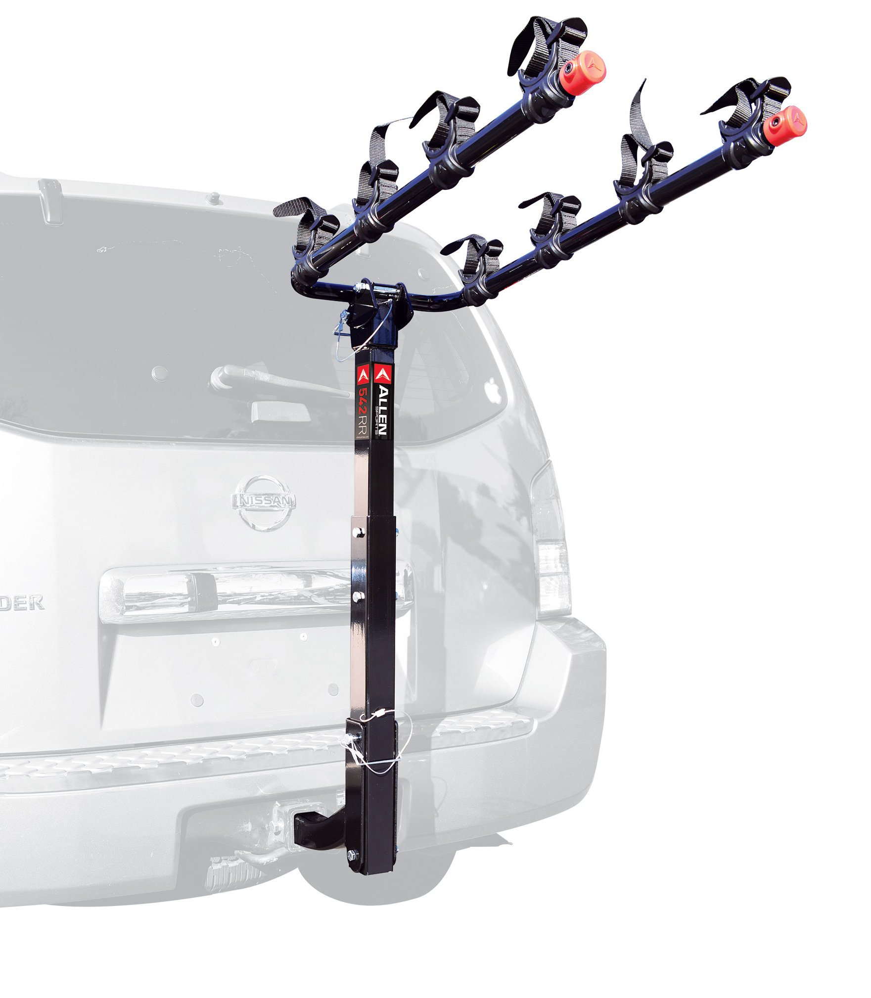 Allen Sports Deluxe 4-Bike Hitch Mount Rack with 2-Inch Receiver by Allen Sports