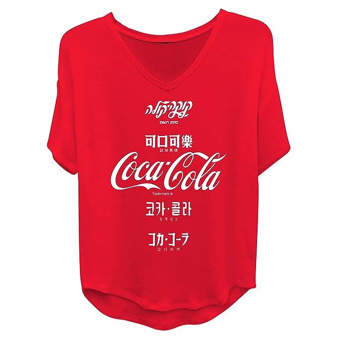 Amazon.com: Coca Cola - Camiseta de manga corta para mujer ...