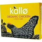 Kallo Organic Chicken Stock Cube 66 g (Pack of 15)