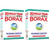 20 Mule Team Borax EkDwY Laundry Booster, Powder, 4 Pounds (2 Pack)
