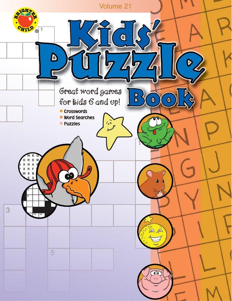 Kids' Puzzle Book Volume 21