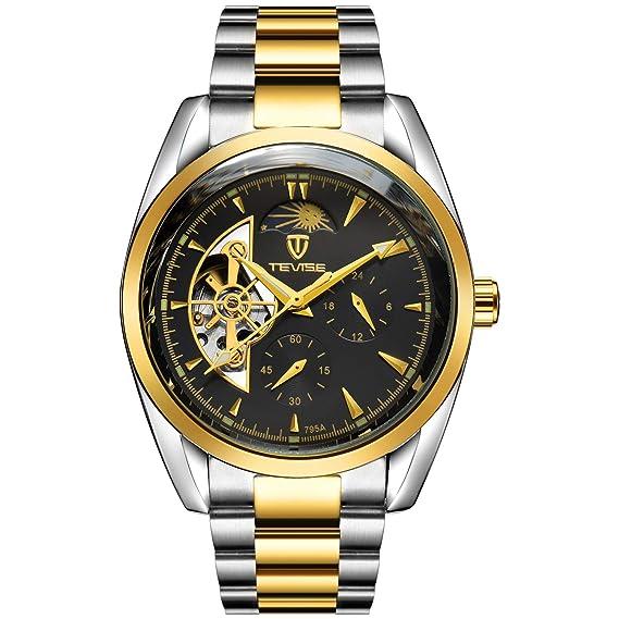 Reloj Multifuncional Para Mecánico De Negocios Hombres Ver vNnmywOP08