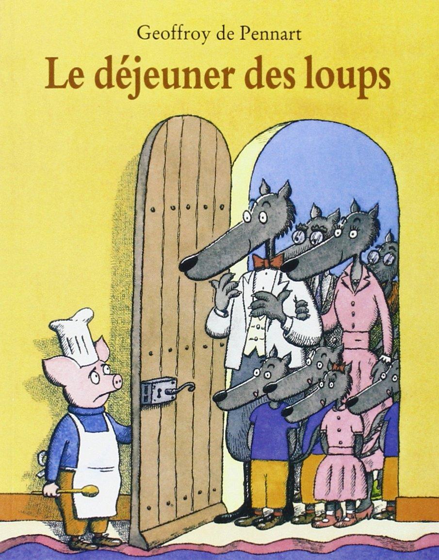 Le dejeuner des loups (Lutin Poche)