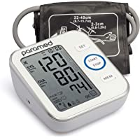 Blood Pressure Monitor by Paramed: Accurate Automatic Upper Arm Bp Machine & Pulse Rate Monitoring Meter with Cuff 22…