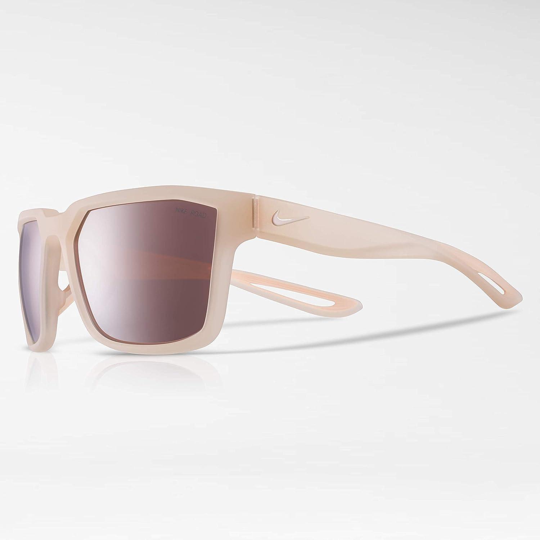 d6aa24a80ead Amazon.com: Nike Eyewear Nike Fleet E Square Sunglasses MATTE GUAVA ICE 55  mm: Clothing