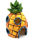 Vogholic Spongebob Pineapple Home Aquarium Ornament Fish Tank Decorations