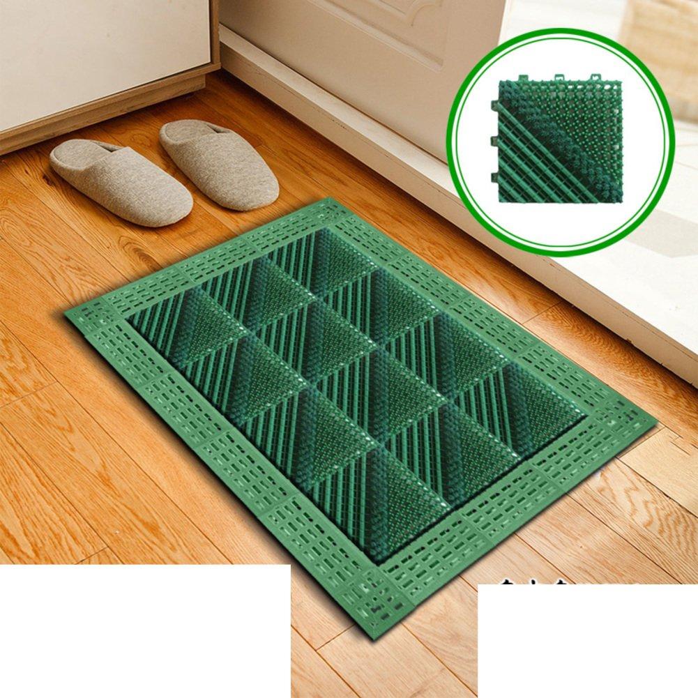 G 45x45cm(18x18inch) Floor Mat Foot Pad Doormat Plastic Mats in The Hall Cut Mat Indoor Mats-A 90x150cm(35x59inch)