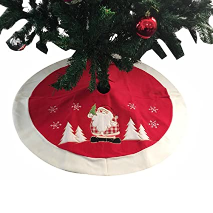christmas tree skirt lamshaw classic red personalized christmas tree skirt 355 classic