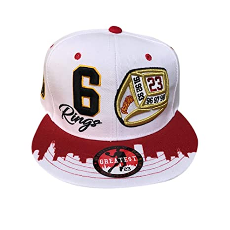 GREATEST 23 Gorra de Chicago Jordan Bulls Colors de 6 Anillas ...