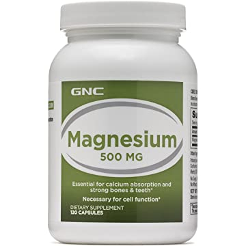 top best GNC Magnesium 500mg for Bone Tooth Strength