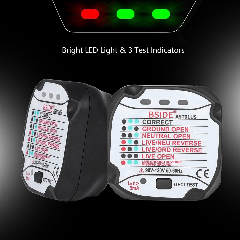 Meterk Advanced Electric Gfci Socket Taco Zone Head Wiring Diagram
