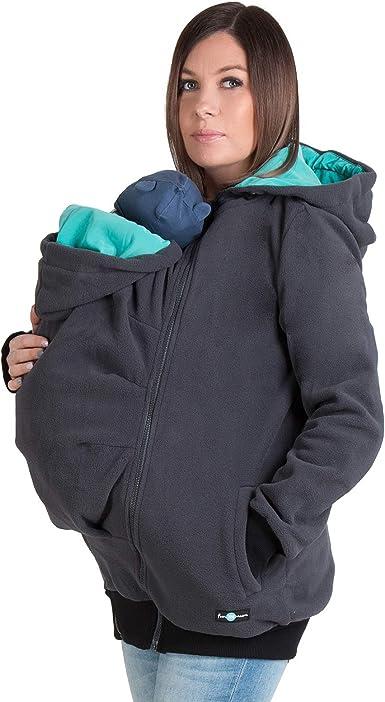 Women Hoodie Baby Carrier Outwear Coat Maternity Jacket Fall Winter Baby Sling