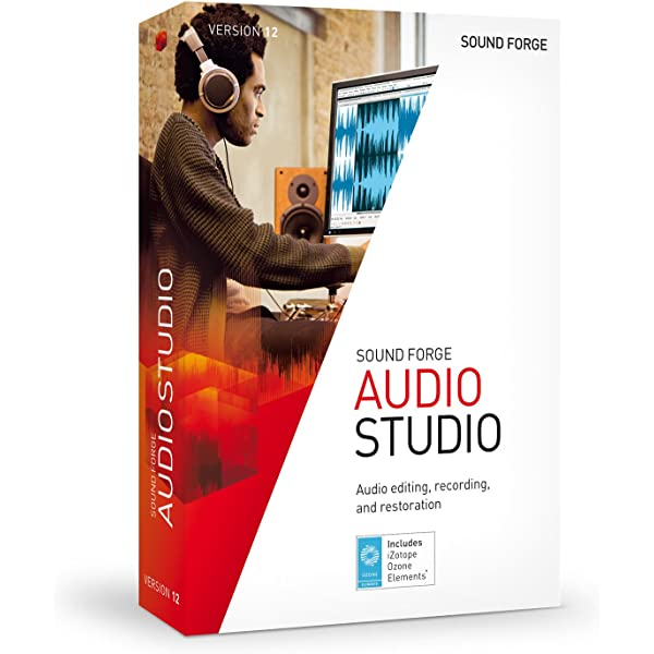 Sony Sound Forge Audio Studio 9 Cheap License