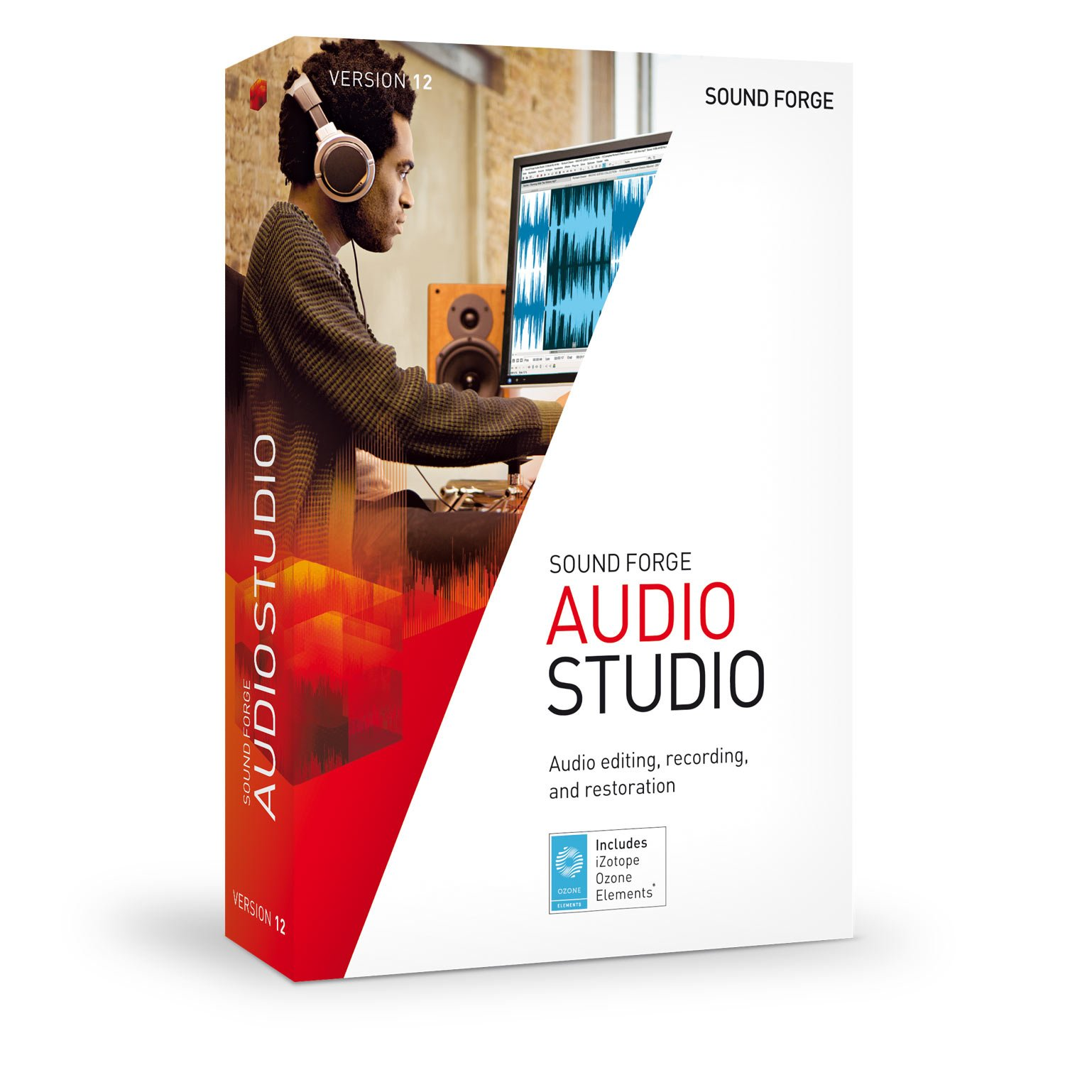 SOUND FORGE Audio Studio - Version 12 - audio editor including mastering plug-in by Sound Forge