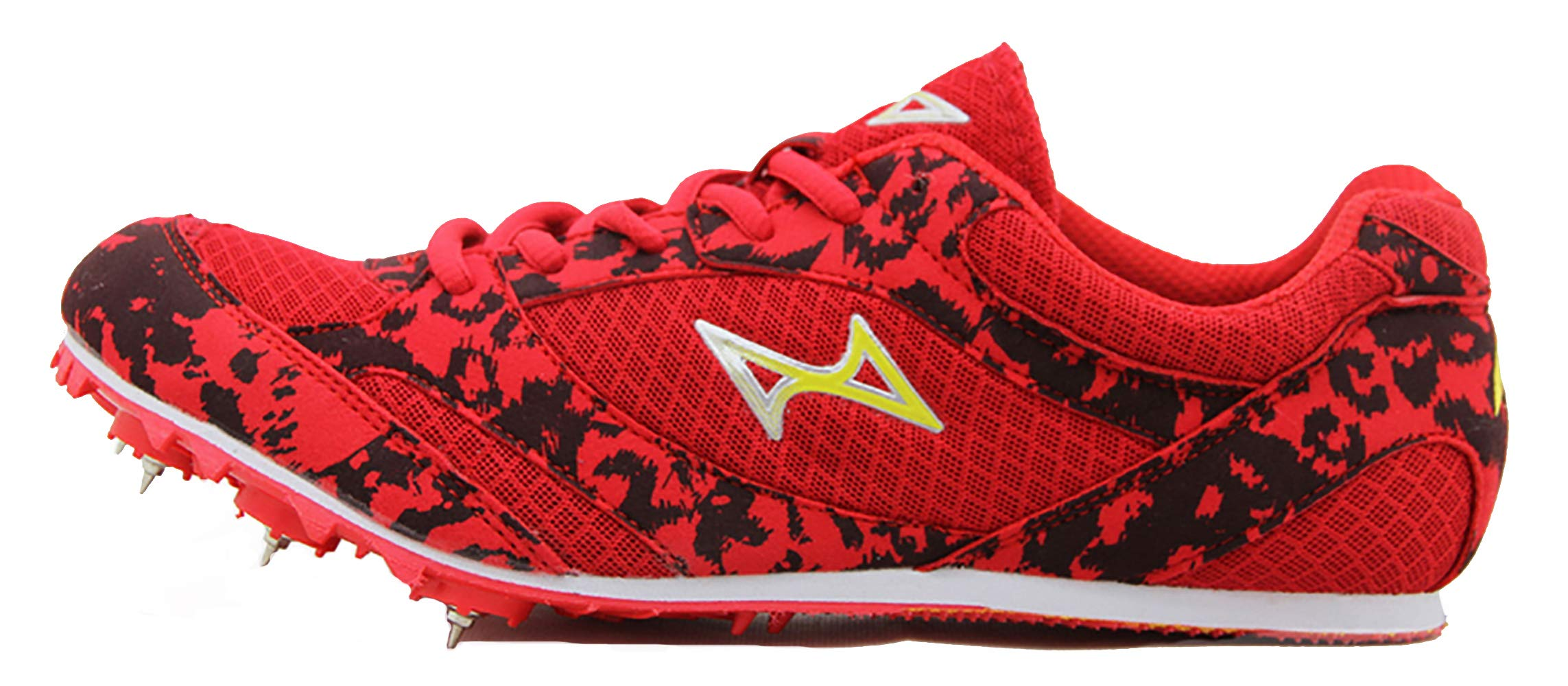 HEALTH Boy's Girl's Sprint Track & Field Shoes Spike Running Mesh Breathable Professional Sports Shoes 599
