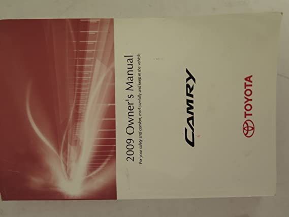 2009 toyota camry owner's manual pdf (456 pages).