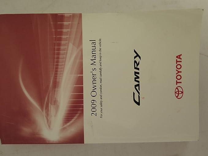 Amazon. Com: 2009 toyota camry owners manual: toyota automotive.