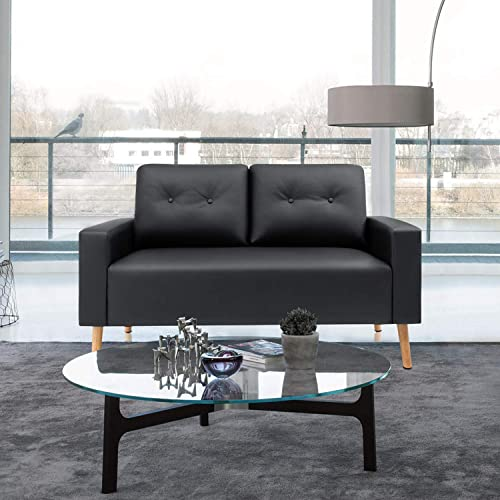 VICTONE Mid Century Loveseat Modern Couch