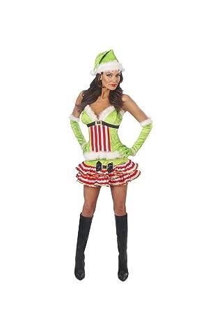 Sexy santa helper costume