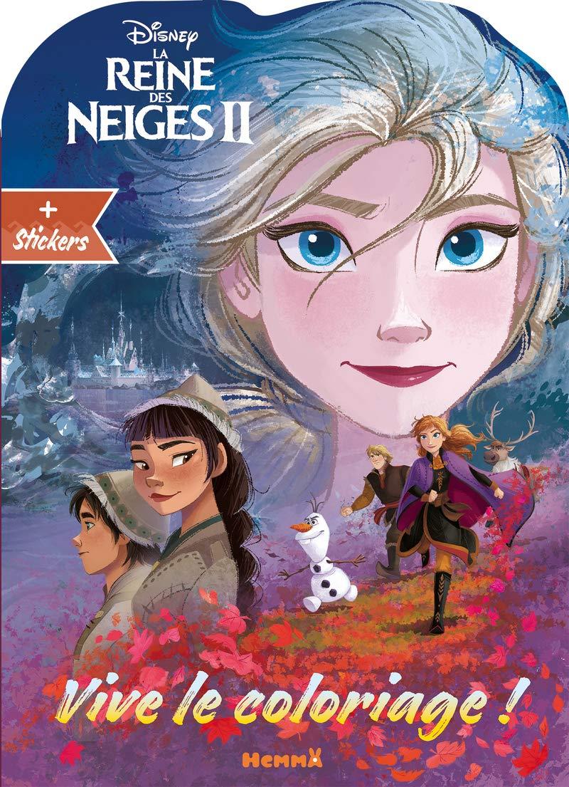 Disney La Reine Des Neiges 2 Vive Le Coloriage Visage Elsa