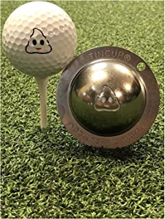 product image for Tin Cup Turd Head Golf Ball Custom Marker Alignment Tool