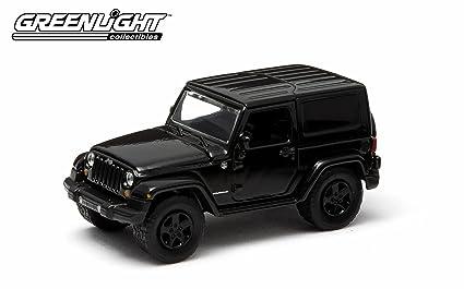 Greenlight Black Bandit Series 10 Diecast   2014 Jeep Wrangler