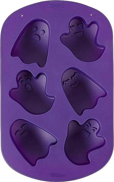 Wilton Ghost Non-Stick Silicone Mold, 6-Cavity