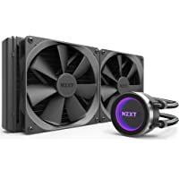 NZXT RL-KRX62-02 Kraken X62  All-in-One Sistema de refrigeración líquido de la CPU, Color Negro