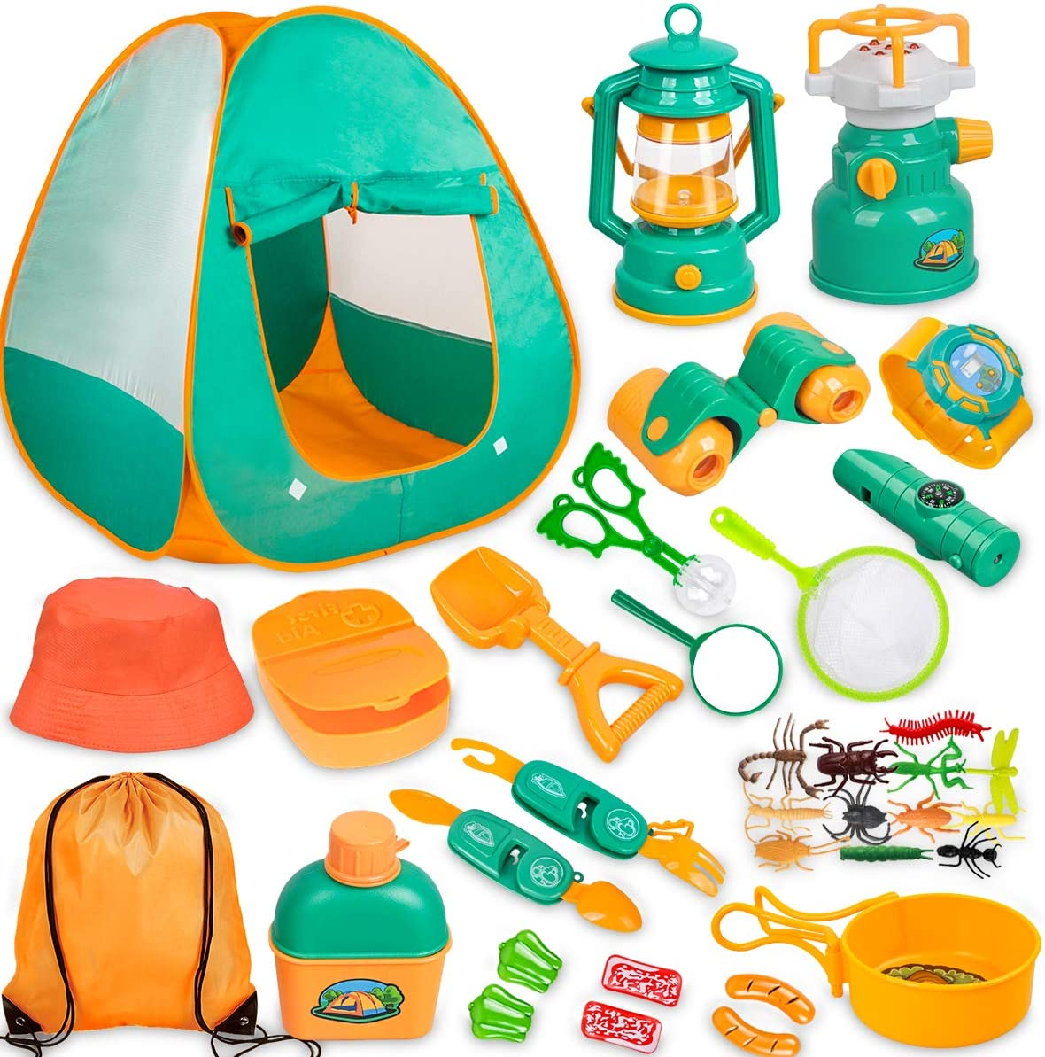 Meland Kids Camping Set with Tent