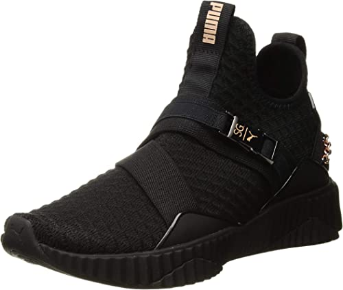 womens black puma shoes