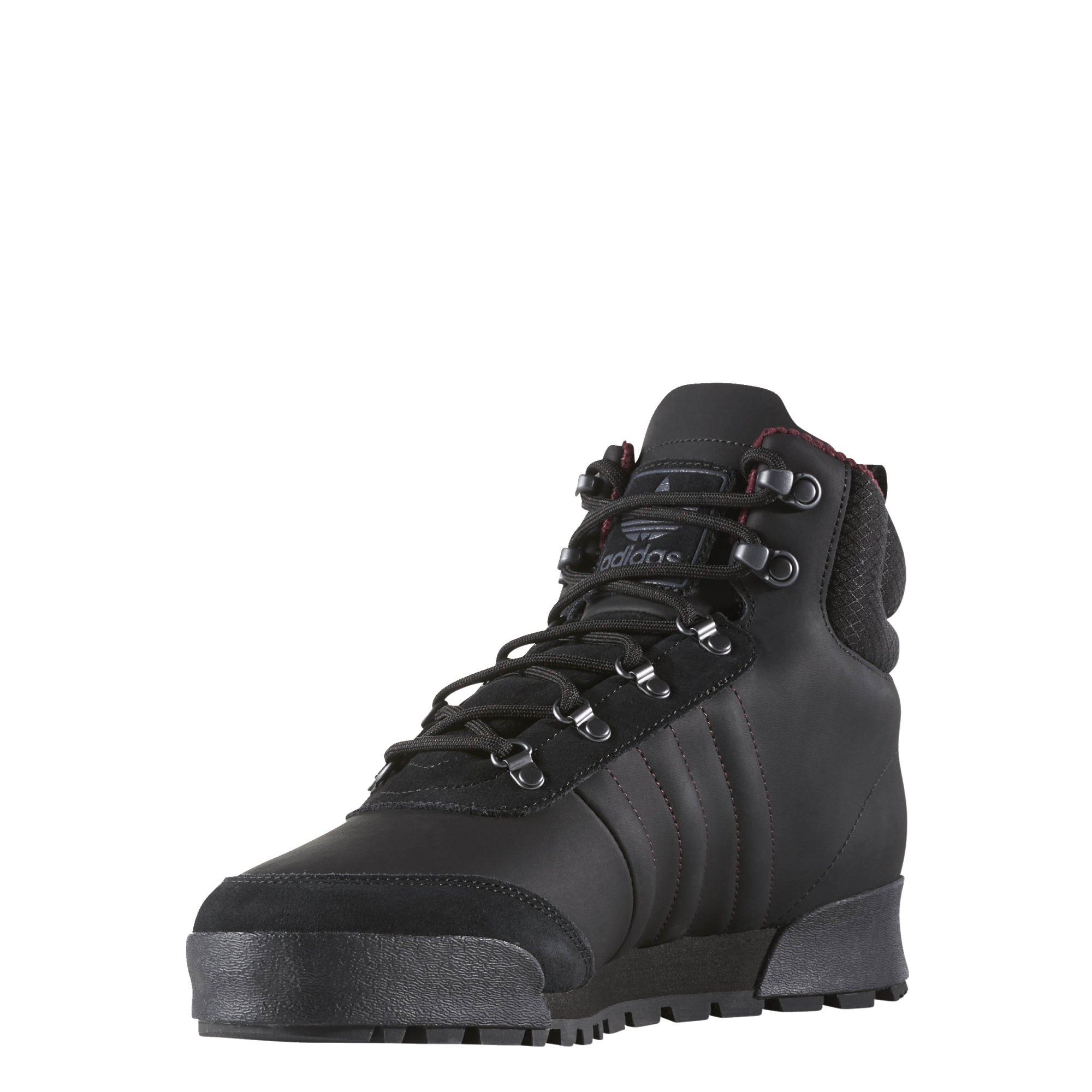 competitive price 141ca b31fb Galleon - Adidas Men s Jake Boot 2.0  High Top (Core Black Maroon DGH Solid  Grey, Size 8.5)