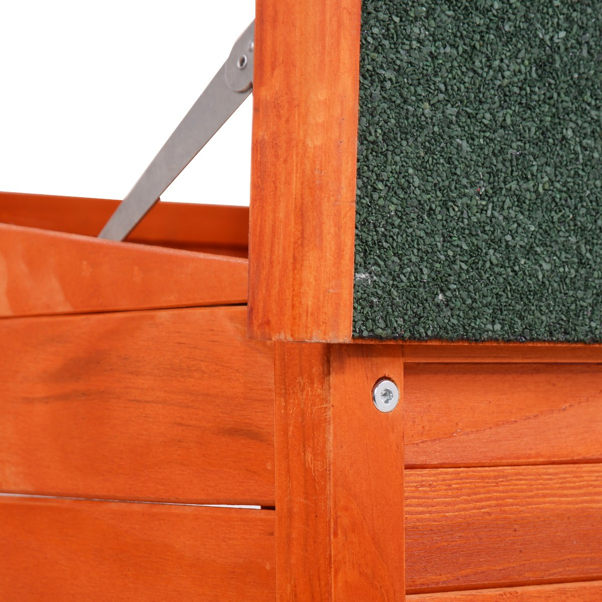 Perrera casa de madera perro mascota jaula Caseta grande XL azotea aislamiento cálida refugio casa: Amazon.es: Productos para mascotas