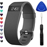 TreasureMax For Fitbit Charge HR Bands, Adjustable Replacement Accessories Straps for HR Charge Fitbit/Fitbit Charge HR 1/Fitbit Charge HR