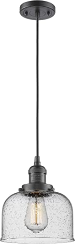 Innovations 201C-OB-G74 1 Light Mini Pendant, Bronze Dark Finish
