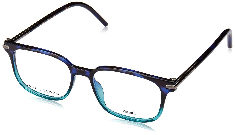 e24afea106 Amazon.com  MARC JACOBS Eyeglasses MARC 52 0TML Havana Blue Aqua 50MM   Clothing