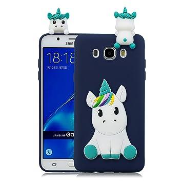 HopMore Funda Samsung Galaxy J5 2016 Silicona Motivo 3D ...