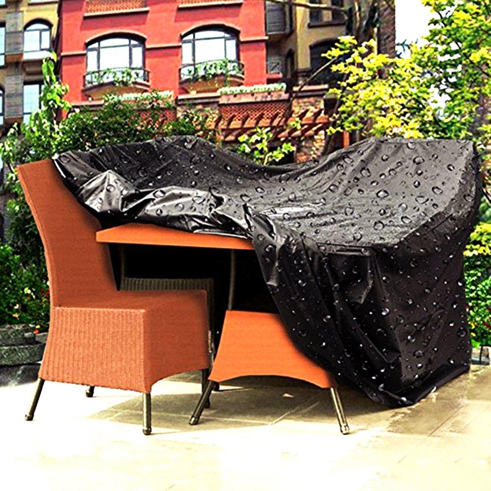 Surenhap Abdeckplane Gartenmöbel, Schutzhülle Wasserdicht UV Schutz  Abdeckplane Extra Groß 250 * 250 *