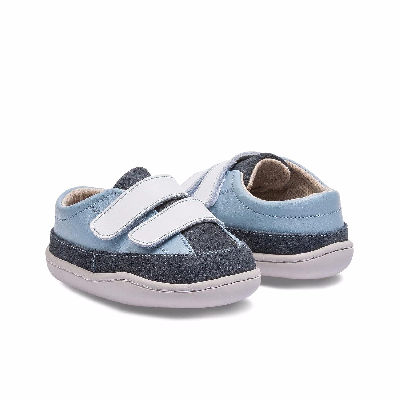 gar/çon {Chaussures premiers pas pour b/éb/é Little Blue Lamb bleu Bleu gris 6-12 mois