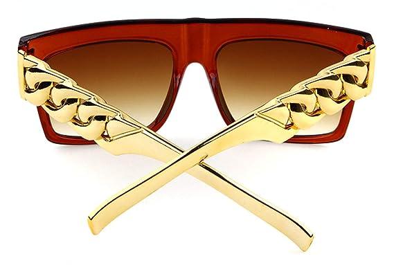 Amazon.com: Gafas de sol para mujer, estilo retro, con ...