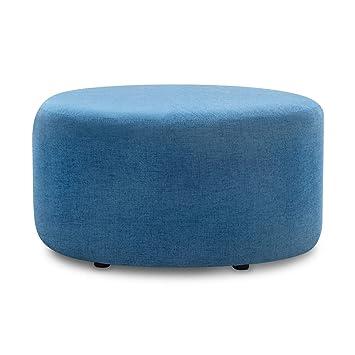 Peachy Amazon Com Akkapeary Modern 24 Upholstered Round Pouf Creativecarmelina Interior Chair Design Creativecarmelinacom