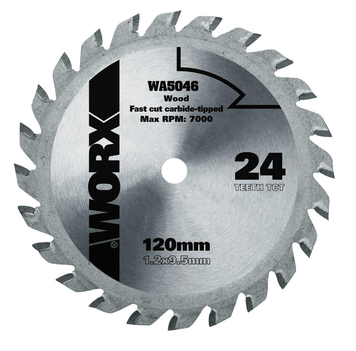 Worx WA5046 - bû cheron 120mm XL WorxSaw
