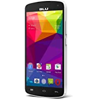 "BLU Studio X8 HD - 5.0"" GSM Unlocked Smartphone -White"