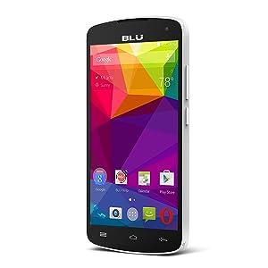 "BLU Studio X8 HD S530 5"" Unlocked GSM Dual-SIM Octa Core Smartphone w/Dual-5MP Cameras - White"