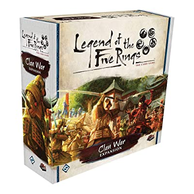 Fantasy Flight Games Legend of The Five Rings LCG: Clan War (L5C28): Toys & Games
