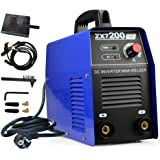 Portable IGBT ARC MMA 1PH 200 Amp for 2.5/3.2mm Electrodes,160V-250V High Frequency Welder with Ground Clamp, Inverter SHU HUI Welding Machine mma-200