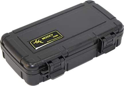 Hard Case Protect Tools,and Glass Testing Equipment 8.6 x 4.9 x 1.9 Inches MOOCY Waterproof Case with Customizable Foam Insert