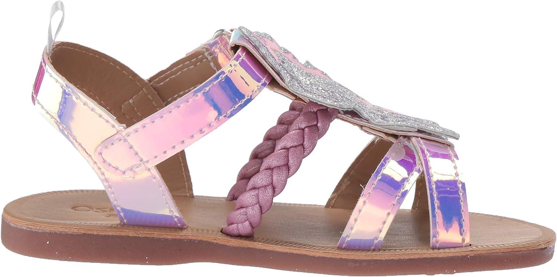 OshKosh BGosh Toddler and Little Girls Sparkie Fashion Sandal