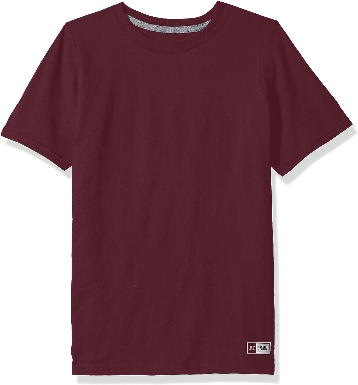 Russell Athletic Big Boys Cotton Performance Short Sleeve T-Shirt