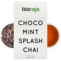 Choco Mint Splash Chai (100 Gms) Everything in Life is Good if its Made with Chocolate